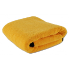 Golden drying towel